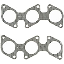 MS96614 Exhaust Manifold Gasket - Direct Fit, Set of 2
