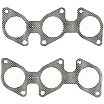 Felpro MS96614 Exhaust Manifold Gasket - Direct Fit, Set of 2