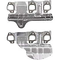 MS96818 Exhaust Manifold Gasket - Direct Fit, Set of 2