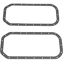 OS30510A Oil Pan Gasket - Rubber, Direct Fit, Set