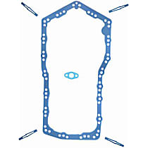 OS30522R Oil Pan Gasket - Rubber, Direct Fit, Set
