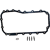 OS30622R Oil Pan Gasket - Rubber, Direct Fit, Set