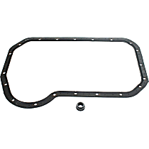 OS30706R Oil Pan Gasket - Rubber, Direct Fit, Set