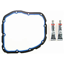 Oil Pan Gasket - Rubber, Direct Fit, Set Lower