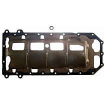 Felpro OS30761R Oil Pan Gasket - Rubber, Direct Fit, Set