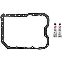 Felpro OS30782 Oil Pan Gasket - Rubber, Direct Fit, Set