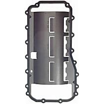 Felpro OS34212R Oil Pan Gasket - Rubber, Direct Fit, Set