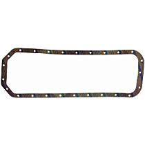 Felpro OS34401C Oil Pan Gasket - Cork, Direct Fit, Set