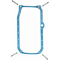 OS34502R Oil Pan Gasket - Rubber, Direct Fit, Set