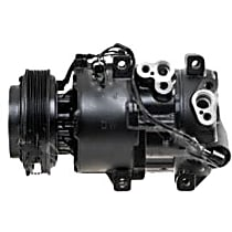 1177305 A/C Compressor Sold individually with Clutch, 6-Groove Pulley