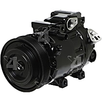 1177314 A/C Compressor Sold individually with Clutch, 6-Groove Pulley
