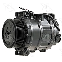 157376 A/C Compressor Sold individually With clutch, 7-Groove Pulley