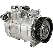 157382 A/C Compressor Sold individually With clutch, 7-Groove Pulley