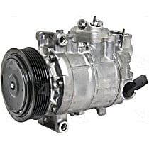 158322 A/C Compressor Sold individually With clutch, 6-Groove Pulley