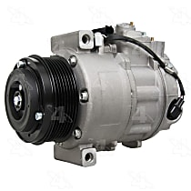 158376 A/C Compressor Sold individually With clutch, 7-Groove Pulley