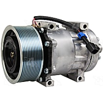 168510 A/C Compressor Sold individually With clutch, 12-Groove Pulley