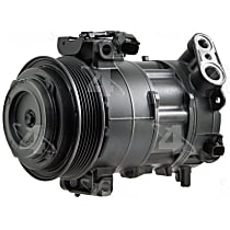 197302 A/C Compressor Sold individually With clutch, 6-Groove Pulley