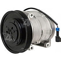 198388 A/C Compressor Sold individually With clutch, 6-Groove Pulley