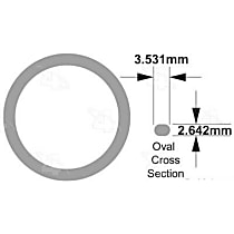 24619 A/C O-Ring - Direct Fit, Sold individually