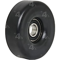 4-Seasons 45064 Accessory Belt Idler Pulley - Direct Fit, Sold individually