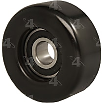 4-Seasons 45072 Accessory Belt Idler Pulley - Direct Fit, Sold individually