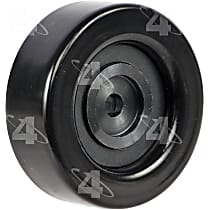 4-Seasons 45906 Accessory Belt Idler Pulley - Direct Fit, Sold individually