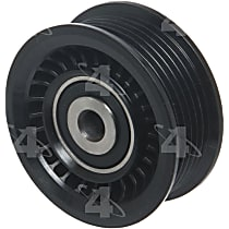 4-Seasons 45909 Accessory Belt Idler Pulley - Direct Fit, Sold individually