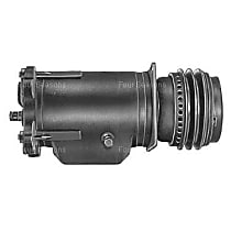 A/C Compressor With clutch, 2-Groove Pulley