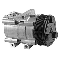 57152 A/C Compressor Sold individually With clutch, 8-Groove Pulley