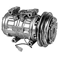 57389 A/C Compressor Sold individually With clutch, 1-Groove Pulley