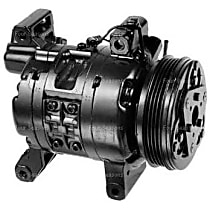 57458 A/C Compressor Sold individually With clutch, 4-Groove Pulley