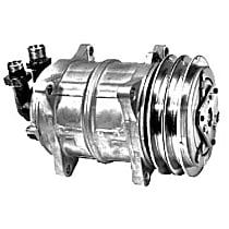 57521 A/C Compressor Sold individually With clutch, 2-Groove Pulley