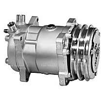 57551 A/C Compressor Sold individually With clutch, 2-Groove Pulley