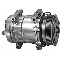 57555 A/C Compressor Sold individually With clutch, 6-Groove Pulley