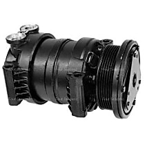 57947 A/C Compressor Sold individually With clutch, 6-Groove Pulley