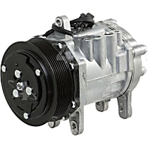 A/C Compressor With clutch, 8-Groove Pulley