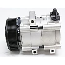 58152 A/C Compressor Sold individually With clutch, 8-Groove Pulley