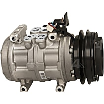 58338 A/C Compressor Sold individually With clutch, 1-Groove Pulley