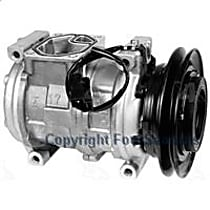 A/C Compressor Sold individually With clutch, 1-Groove Pulley