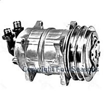 58521 A/C Compressor Sold individually With clutch, 2-Groove Pulley