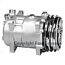 58551 A/C Compressor Sold individually With clutch, 2-Groove Pulley