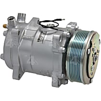 58589 A/C Compressor Sold individually With clutch, 7-Groove Pulley