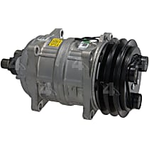 58615 A/C Compressor Sold individually With clutch, 2-Groove Pulley