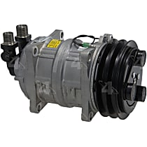 58621 A/C Compressor Sold individually With clutch, 2-Groove Pulley