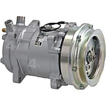 58638 A/C Compressor Sold individually With clutch, 1-Groove Pulley