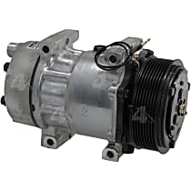 58702 A/C Compressor Sold individually With clutch, 8-Groove Pulley