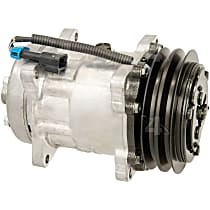 58704 A/C Compressor Sold individually With clutch, 2-Groove Pulley