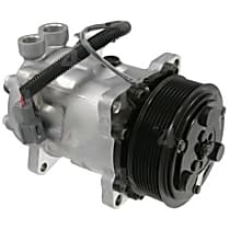 58782 A/C Compressor Sold individually With clutch, 8-Groove Pulley