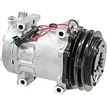 58794 A/C Compressor Sold individually With clutch, 2-Groove Pulley