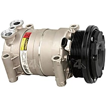 58947 A/C Compressor Sold individually With clutch, 6-Groove Pulley